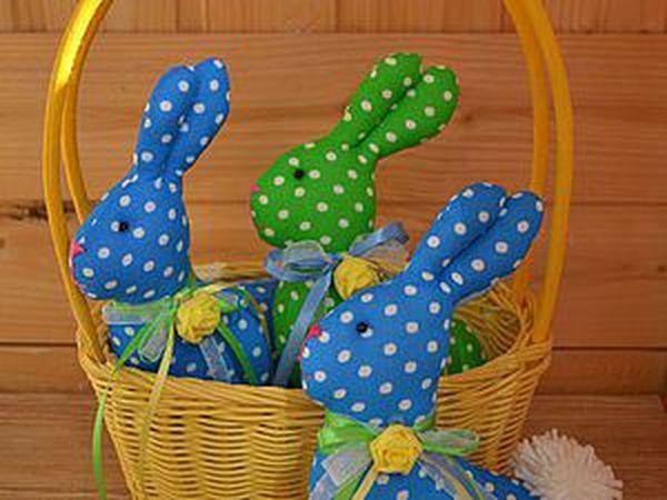 Шьем пасхального кролика   Ярмарка Мастеров - ручная работа, handmade