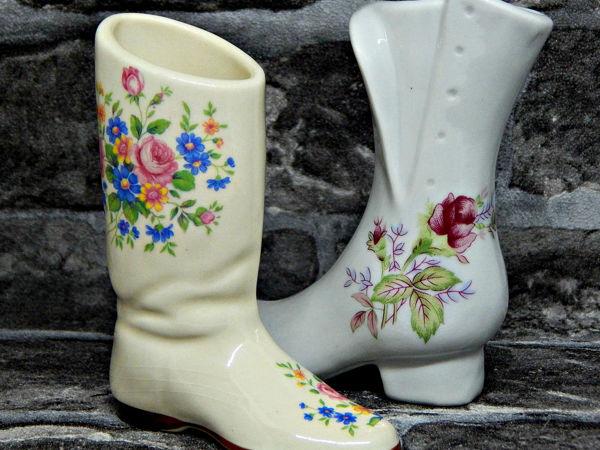 Винтажные коллекционные сапоги | Ярмарка Мастеров - ручная работа, handmade