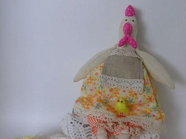 Курочка в стиле Тильда   Ярмарка Мастеров - ручная работа, handmade