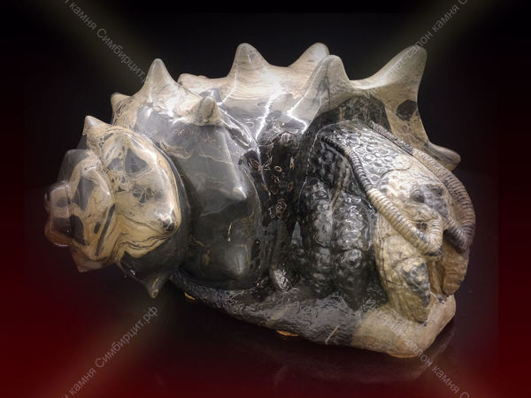 Рак-отшельник. Сенгилит. Анатолий Кузьмин | Ярмарка Мастеров - ручная работа, handmade
