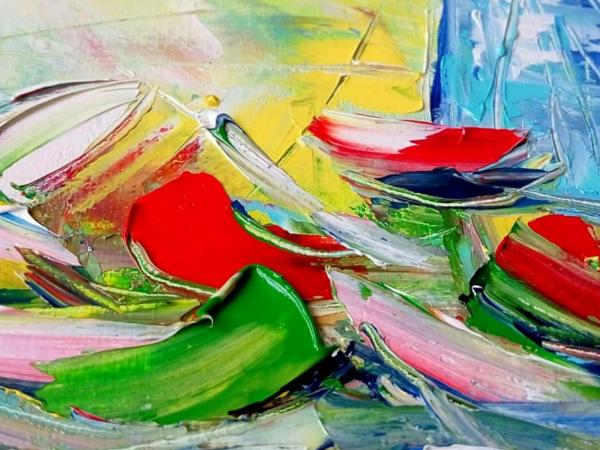 Картины с цветами в поисках своего пристанища :) | Ярмарка Мастеров - ручная работа, handmade