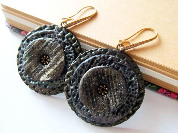Мастер-класс:  «Лаконичные серьги из полимерной глины»   Ярмарка Мастеров - ручная работа, handmade