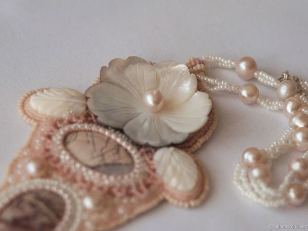 Дары моря: 5 жемчужных украшений разных цветов | Ярмарка Мастеров - ручная работа, handmade