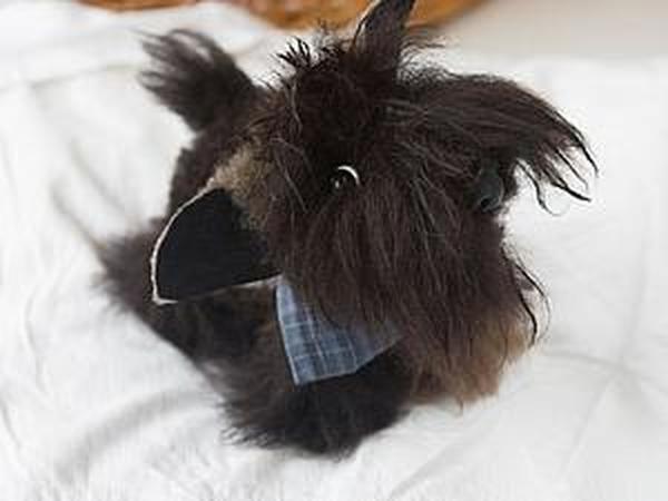 Весёлый щенок | Ярмарка Мастеров - ручная работа, handmade