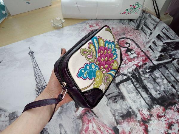 Летняя сумочка-клатч на молнии своими руками | Ярмарка Мастеров - ручная работа, handmade