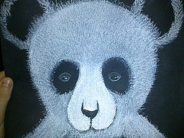 «Сонная панда»: рисуем пастелью   Ярмарка Мастеров - ручная работа, handmade