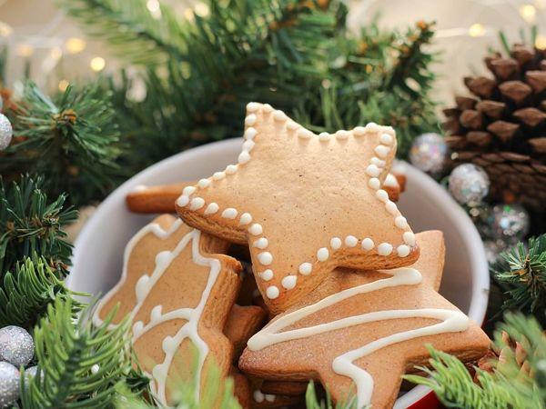 Светлое домашнее печенье к рождеству | Ярмарка Мастеров - ручная работа, handmade