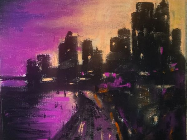 Мастер-класс пастелью «Новый Орлеан»   Ярмарка Мастеров - ручная работа, handmade
