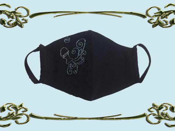 Шьём маску для водолеев   Ярмарка Мастеров - ручная работа, handmade
