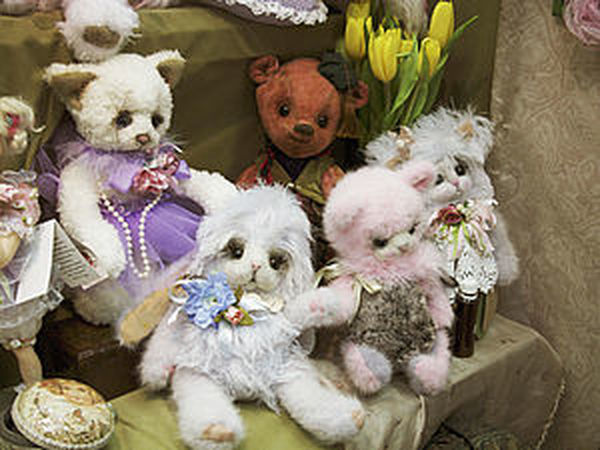 Выставка кукол и мишек на Тишинке   Ярмарка Мастеров - ручная работа, handmade