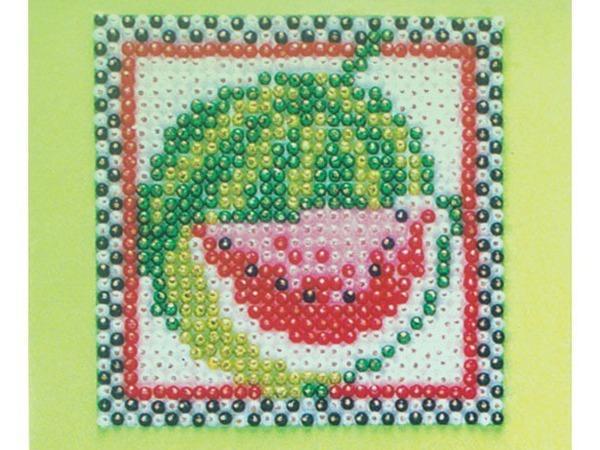 Украшаем кухонный интерьер милыми панно с фруктами из бусинок | Ярмарка Мастеров - ручная работа, handmade
