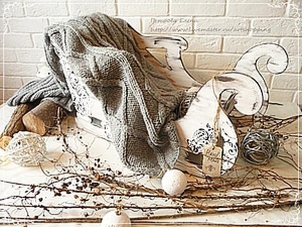 Декорируем сани для фотосессий | Ярмарка Мастеров - ручная работа, handmade