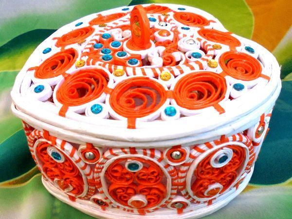 Видеоурок: мастерим ажурную шкатулку «Сердечко торсион» | Ярмарка Мастеров - ручная работа, handmade