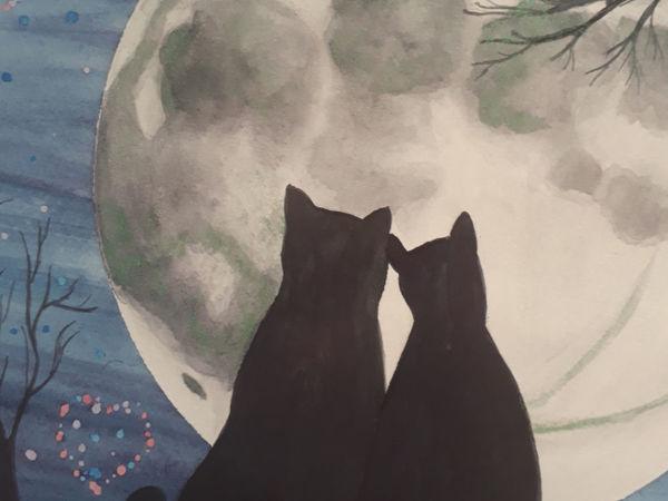 Новая работа в магазине. Космические коты. Только сегодня —  цена первого дня! | Ярмарка Мастеров - ручная работа, handmade