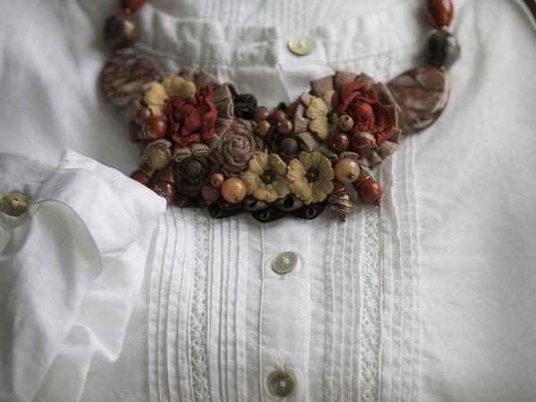 Новая работа по мотивам колье Tierra Auri | Ярмарка Мастеров - ручная работа, handmade