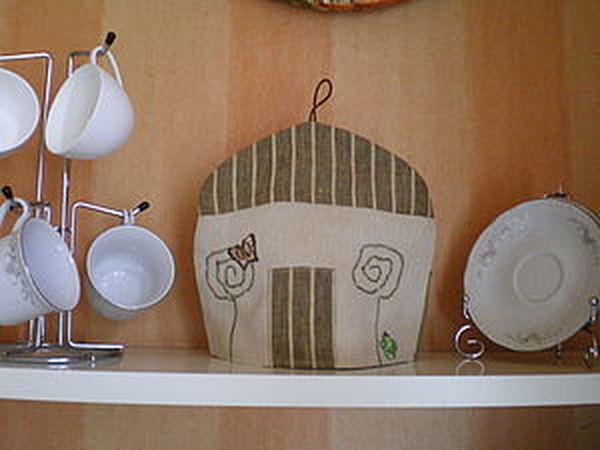 Детские шалости или грелка для чайника. | Ярмарка Мастеров - ручная работа, handmade