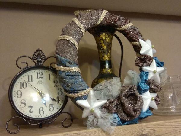 Новогодние украшения из старых вещей | Ярмарка Мастеров - ручная работа, handmade