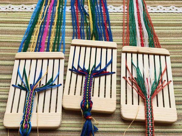 Ткачество на бердышке | Ярмарка Мастеров - ручная работа, handmade