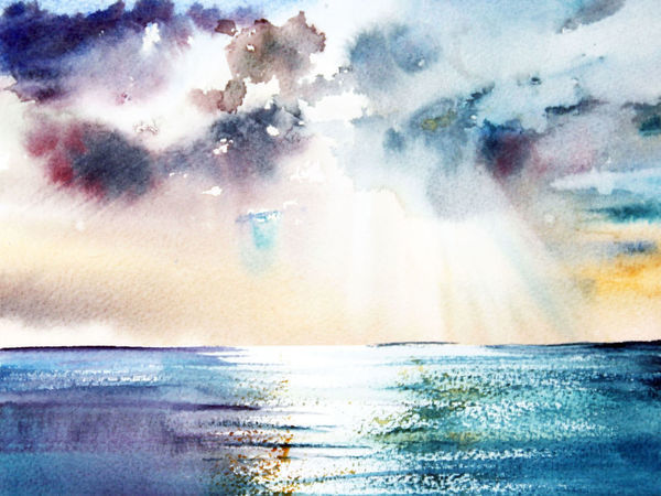 Увидеть море, солнце и песок | Ярмарка Мастеров - ручная работа, handmade