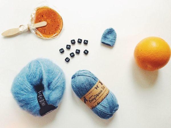 Вяжем шапку бини | Ярмарка Мастеров - ручная работа, handmade