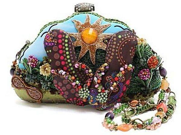 Fantastically Embroidered Handbags by Mary Frances Shaffer | Livemaster - handmade