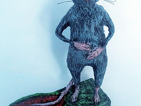 У меня поселился переевший крыс! | Ярмарка Мастеров - ручная работа, handmade