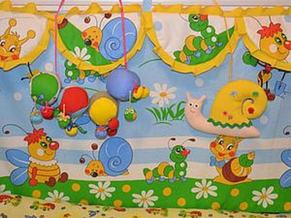 Мастер-класс: пошив бортиков в детскую кроватку | Ярмарка Мастеров - ручная работа, handmade