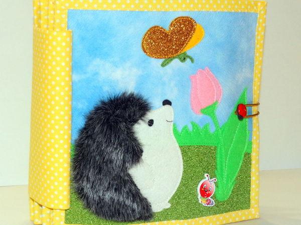 Развивающая книжка  «Красавица весна» | Ярмарка Мастеров - ручная работа, handmade