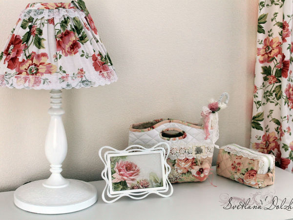 A Great Idea to Decorate a Boring Table Lamp | Livemaster - handmade
