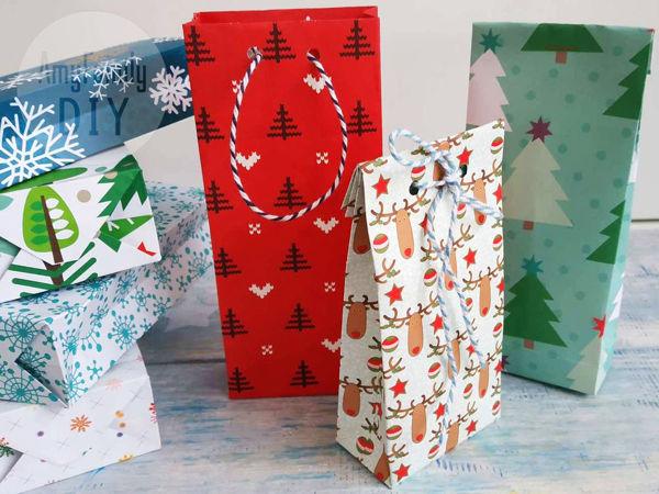 Let's Make a Paper Gift Bag! | Livemaster - handmade