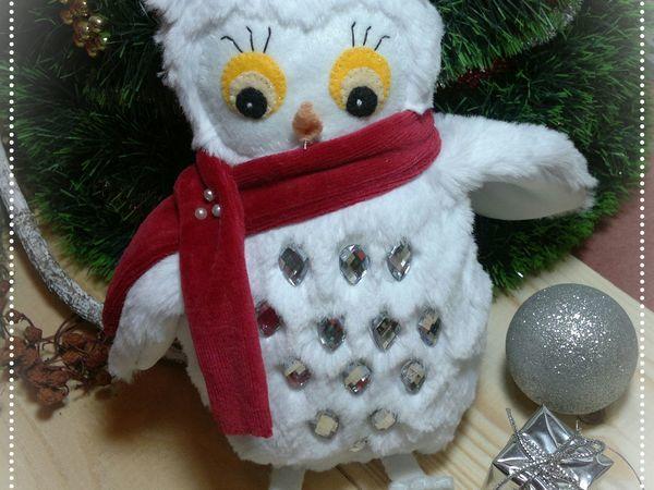 Шьём мягкую игрушку из меха «Совушка-Зима» | Ярмарка Мастеров - ручная работа, handmade