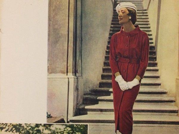 Spring 1958 Odivani Fashion Magazine: Classical Design Popular Now | Livemaster - handmade