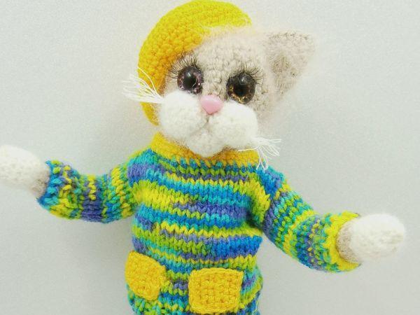 Кошка Обнимашка   Ярмарка Мастеров - ручная работа, handmade