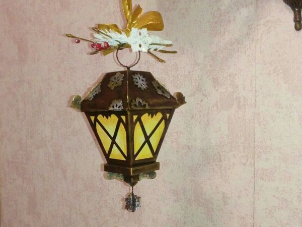 Как сделать фонарик из картона   Ярмарка Мастеров - ручная работа, handmade