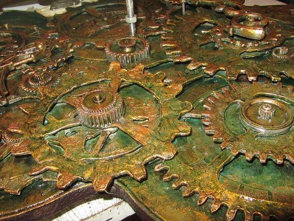 Делаем шестерёнки из папье-маше | Ярмарка Мастеров - ручная работа, handmade
