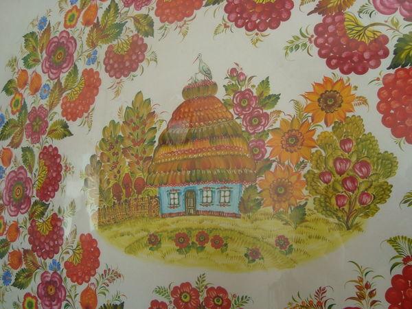 Рождение рекорда: самый длинный рушник с петриковской росписью | Ярмарка Мастеров - ручная работа, handmade