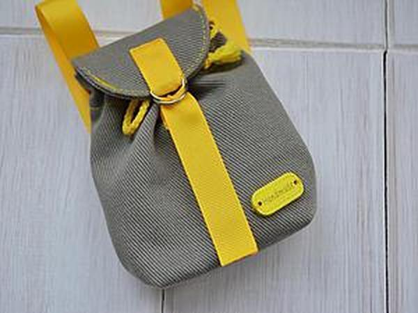 Шьем рюкзачок для игрушки за 1 час | Ярмарка Мастеров - ручная работа, handmade