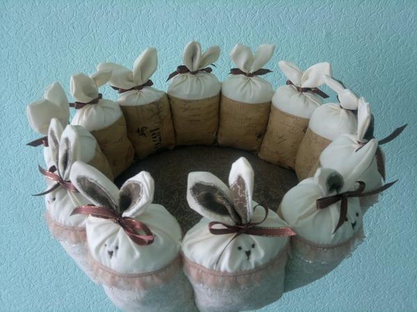 Шьем милую пасхальную корзину | Ярмарка Мастеров - ручная работа, handmade