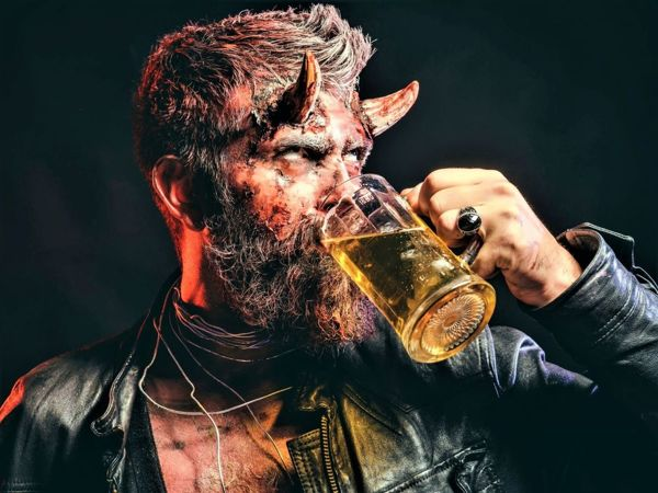 Алкогольные бесы в расстановке. Зачем вся эта дьявольщина нужна Богу? | Ярмарка Мастеров - ручная работа, handmade
