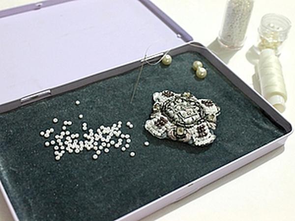 Мастер-класс коробочки для работы с бисером. | Ярмарка Мастеров - ручная работа, handmade