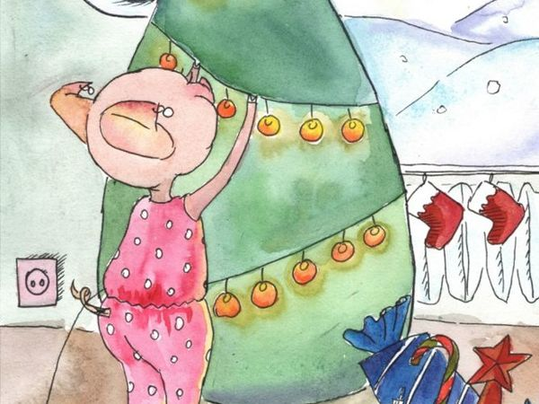 Короткий предновогодний конкурс коллекций  «Новогоднее волшебство»  от Антонины Любецкой.  Приз — картина на выбор!   Ярмарка Мастеров - ручная работа, handmade