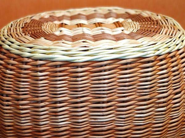 Плотное плетение – залог прочности и красоты изделий | Ярмарка Мастеров - ручная работа, handmade
