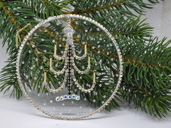 Making a New Year Ornament for an Hour   Livemaster - handmade