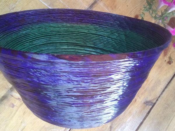 Как сделать большие и прочные кашпо для уличных цветов   Ярмарка Мастеров - ручная работа, handmade