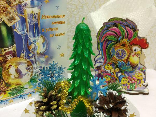 Новогодняя резная свеча своими руками | Ярмарка Мастеров - ручная работа, handmade