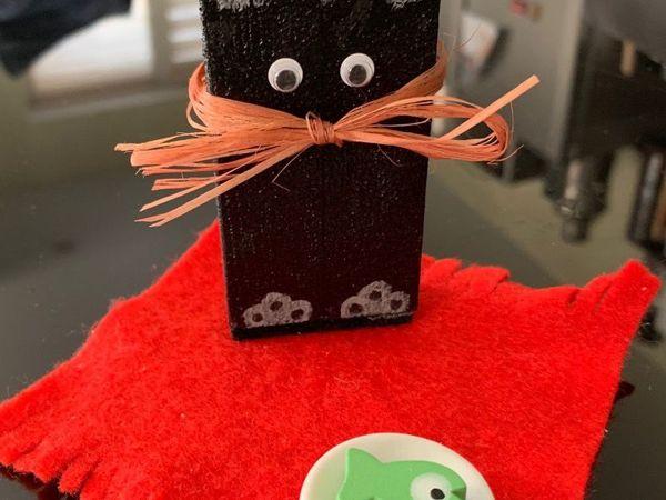 Мастер-класс для детей 6-8 лет.  «Кошечка»   Ярмарка Мастеров - ручная работа, handmade