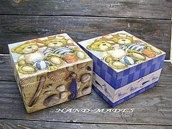 Техника 3D-декупажа - придаем объем изображениям! Теперь на шкатулках и сухарницах!! | Ярмарка Мастеров - ручная работа, handmade