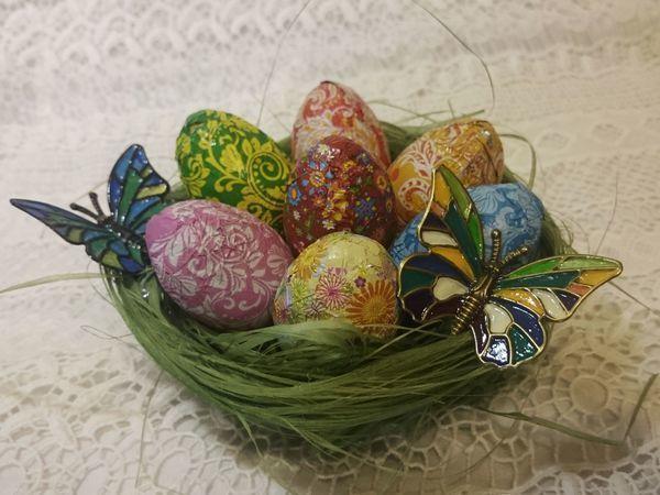 Делаем корзинку для пасхальных яиц вместе с детьми | Ярмарка Мастеров - ручная работа, handmade
