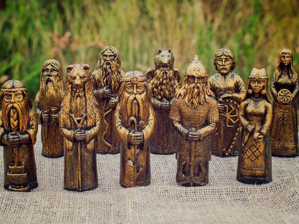 Кумиры славянских богов купить | Ярмарка Мастеров - ручная работа, handmade