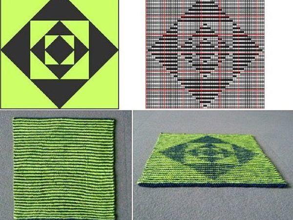 Вяжем иллюзию: отличия теневого и иллюзорного вязания | Ярмарка Мастеров - ручная работа, handmade